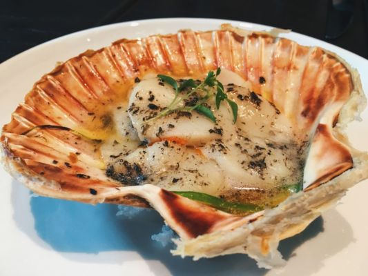 Baked King Scallops $18