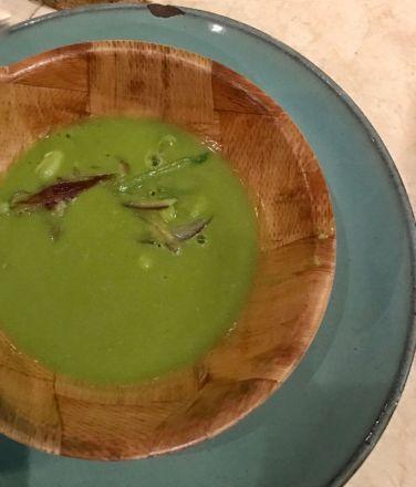 Garden Pea Soup