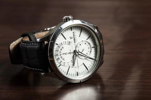 Budowa zegarka naręcznego