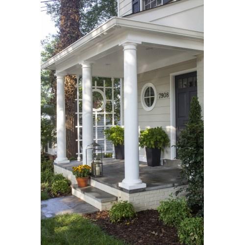 Medium Crop Of Landscape In Front Of Porch