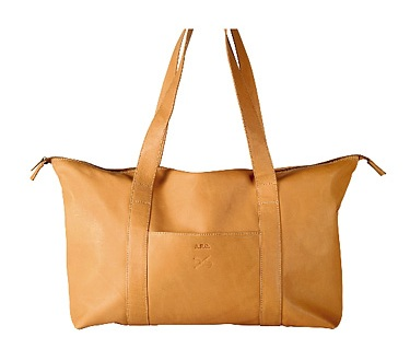 apc-leather-tan-weekend-bag-ss-2009-main