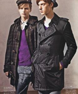 Autumn/Winter 2009: Burberry Black Label Lookbook