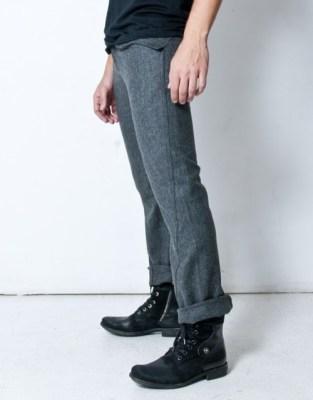 Wrath Arcane Grey Wool Pants
