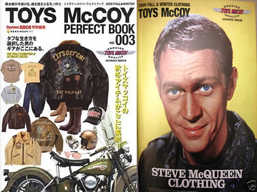 Toys McCoy x Steve McQueen Perfect Book Vol. 003 [Japan]