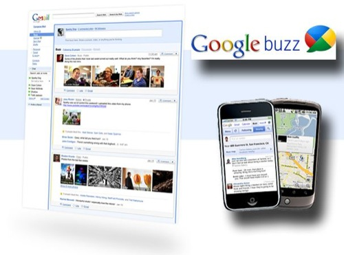 Gmail is Social with Google Buzz