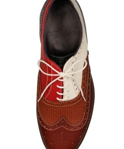 Grenson x My-Wardrobe Multi Colour Brogues