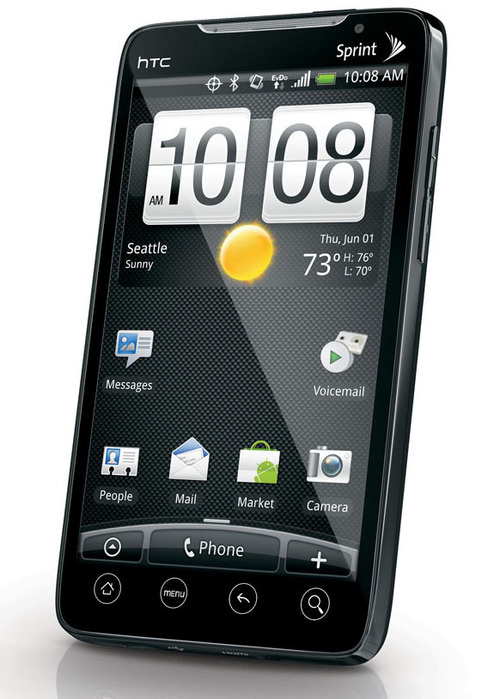 Sprint 4G: HTC EVO Packs Android 2.1, Answers to Dying Company's Prayers