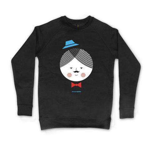 Parinto Hatman Crewneck Sweatshirt by Blanca Gómez