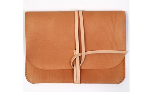 Kenton Sorenson Natural Leather iPad Portfolio