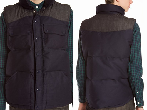Fall 2010 | Bleu de Paname Down Vest