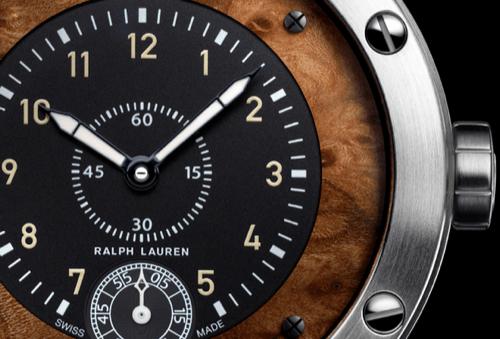 The Ralph Lauren Sporting Watch With Elm Burl Wood Dial