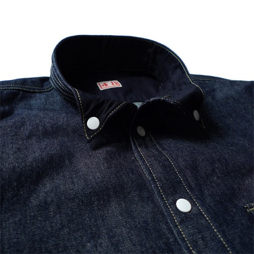 NexusVII Denim Button Down Shirt
