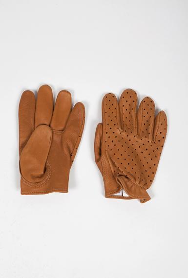 The Short Wrist | Churchill Deerskin Racer Gloves