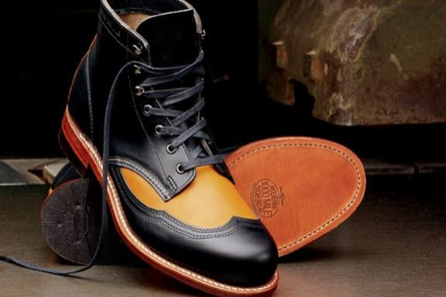 Fall 2011 | Wolverine 1000 Mile Addison Two-Tone Wingtip Boot