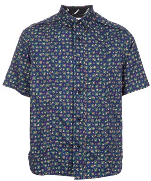 White Mountaineering Floral Print Shirt