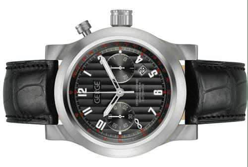 Gergé M3 Titanium Mono-Pusher Chronograph
