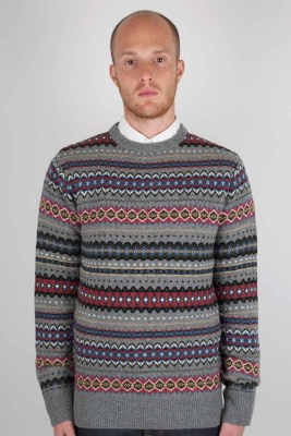 Barbour Caister Fair Isle Jumper for Fall 2011