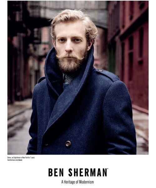 Ben Sherman Fall 2011 'Englishman in New York' Campaign