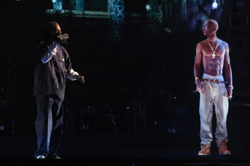 2Pac Hologram at Coachella 2012 with Dr. Dre and Snoop Dogg