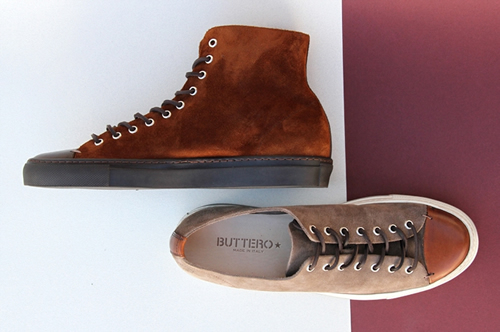 Buttero Suede Sneakers for Fall/Winter 2012