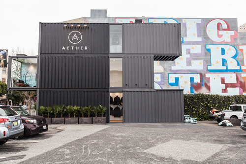 AETHERsf | Aether Apparel Opens First Retail Store
