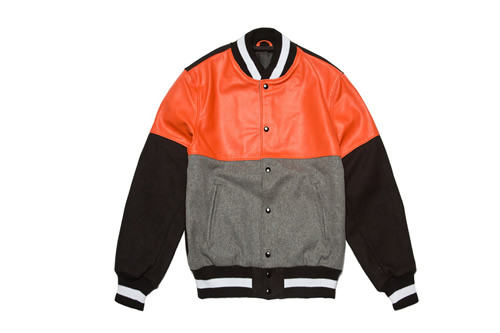 Black Scale x Golden Bear Deluxe Varsity Jacket
