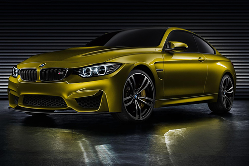 BMW M4 Concept Unveiled