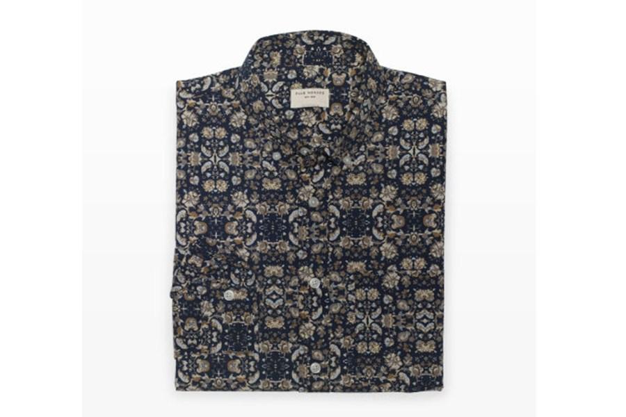 club-monaco-floral-garden-shirt