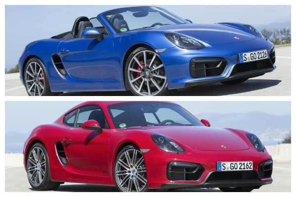 2016 Porsche Boxster and Cayman to Be Renamed 718-00