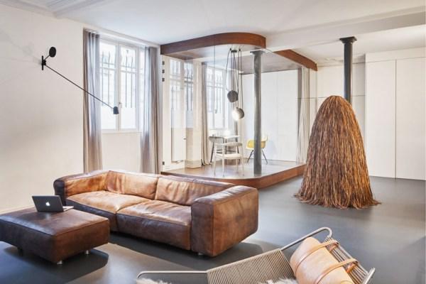 Eclectic Parisian Loft by Cut Architectures 00