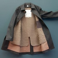 Tenue de Nimes x Hancock VA Handsome Collaborative Raincoats