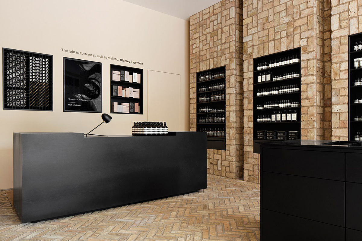 Aēsop's New Bucktown Shop is Made from 10,000 Reclaimed Bricks