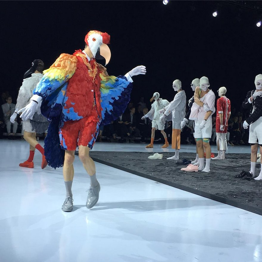 Thom Browne's Spring/Summer 2017 Inspired by the Tropics