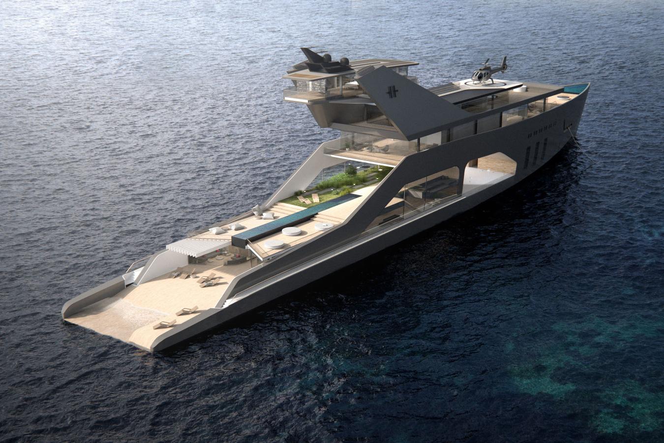 Hareide Mega Yacht