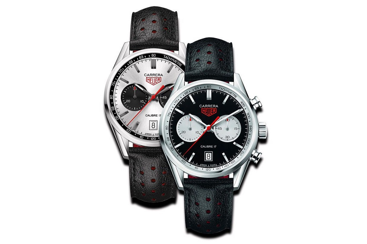 TAG Heuer Releases the Black and White Panda Carrera Calibre 17