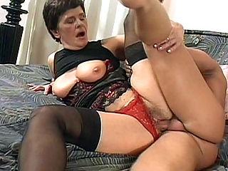 busty mature lingerie