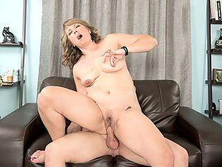 huge cock in her face