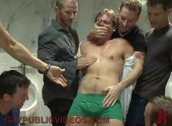 Sexo gay brutal a força