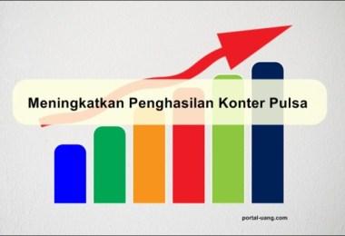 Tips meningkatkan penghasilan bisnis konter pulsa