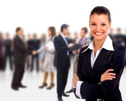 bigstock-Female-Business-leader-standin-13872194