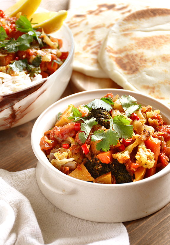 Roasted Vegetable Jalfrezi
