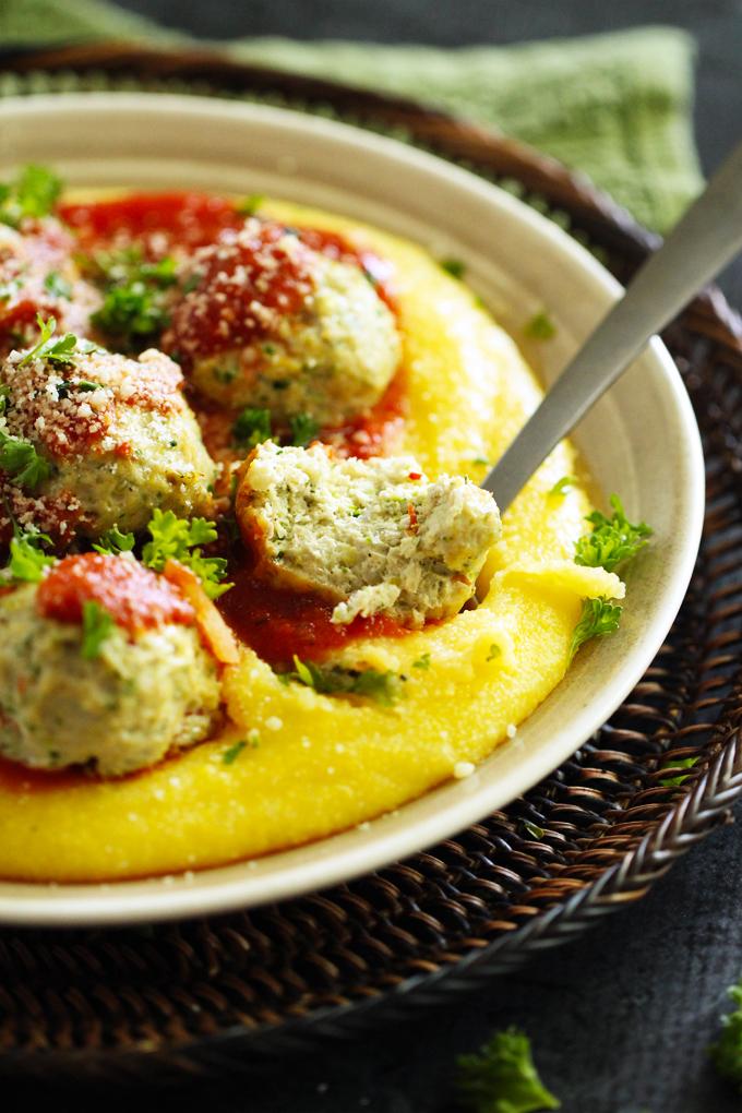 TurkeyMeatballsPolenta1