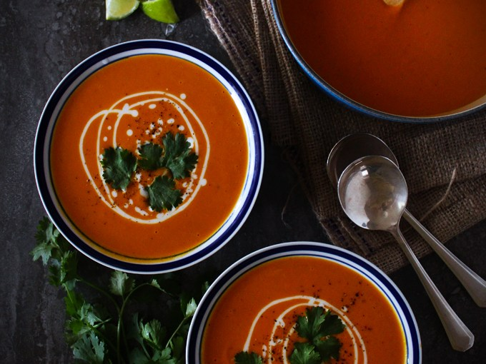 Yam & Coconut Soup