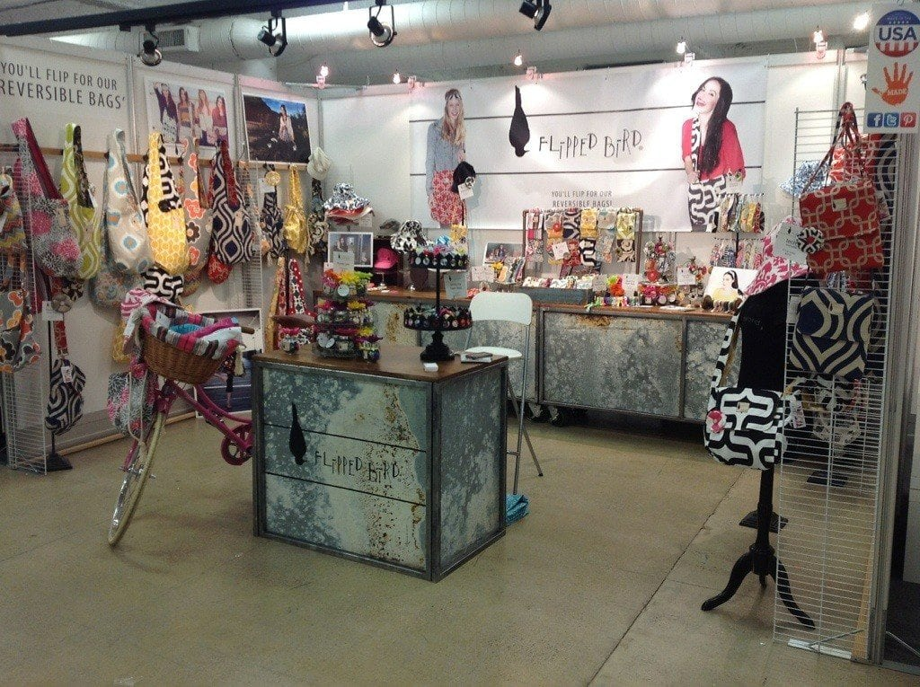 Trade Show Crate Tables and Fold-up Table