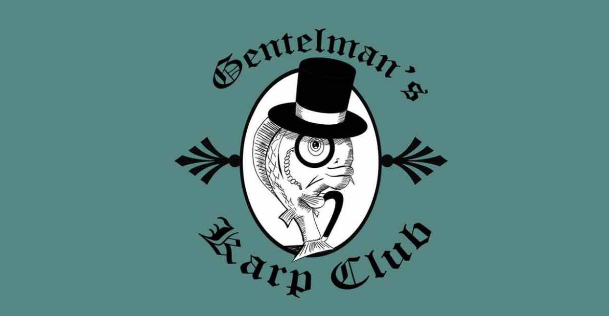 """Logo dla klubu rybackiego """"Gentleman's Karp Club"""""""