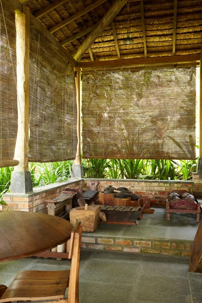 The famous gamelan...