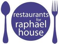 Restaurants for Raphael House logo