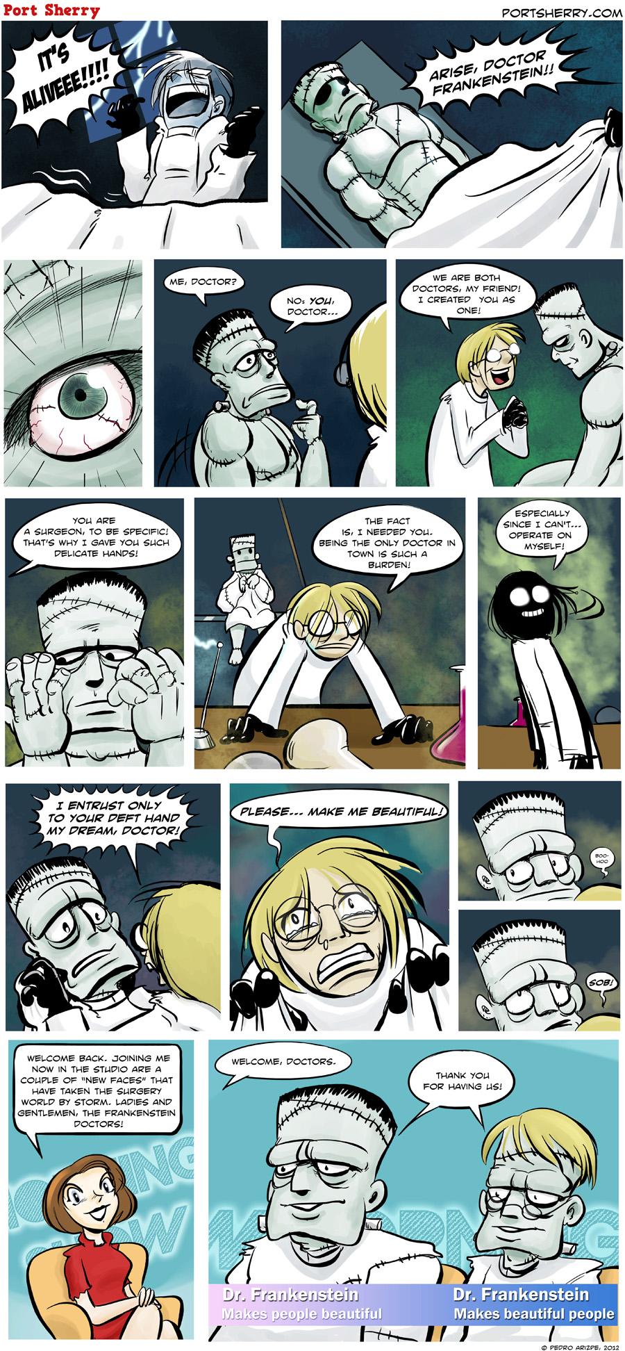 Help me Dr. Frankenstein
