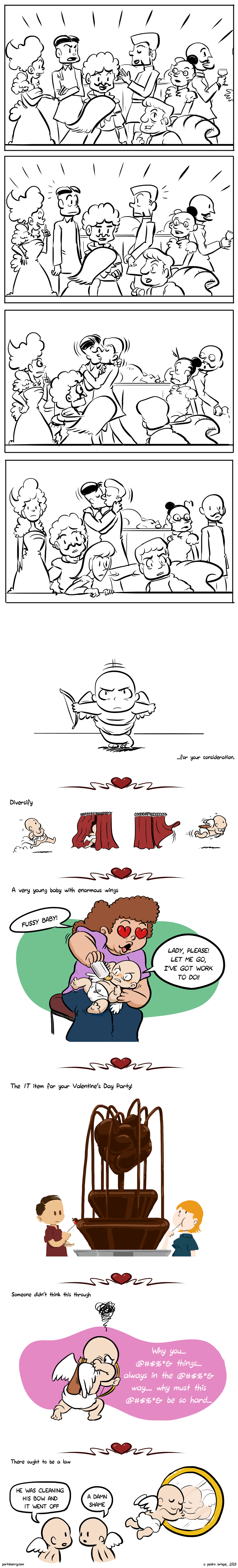 Valentine's Day Comics