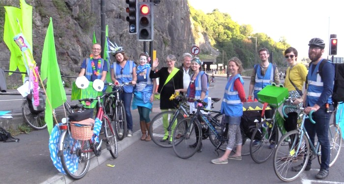Bristol Cycle Campaign on Portway